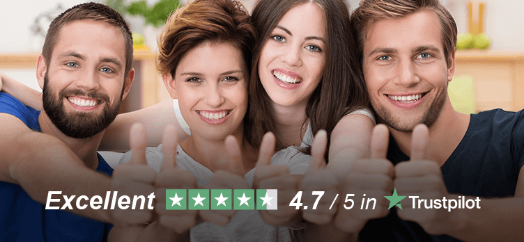 WE HAVE THE BEST CREDIT BASED ON TrustPilot